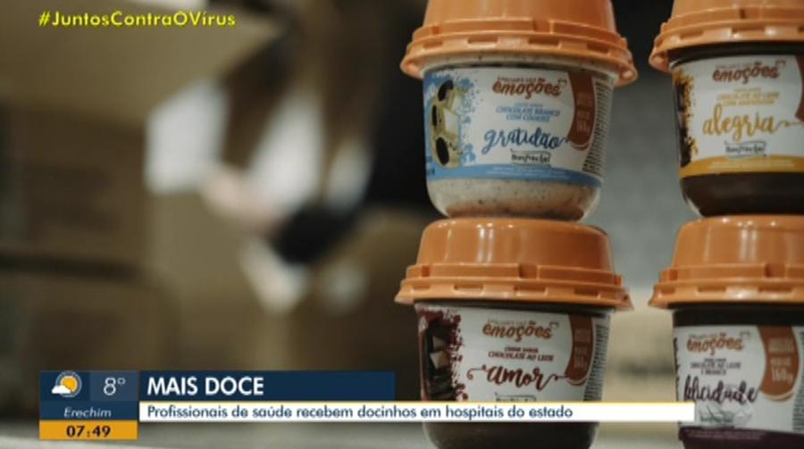 Doce Sabor Chocolate Brigadeiro de Colher