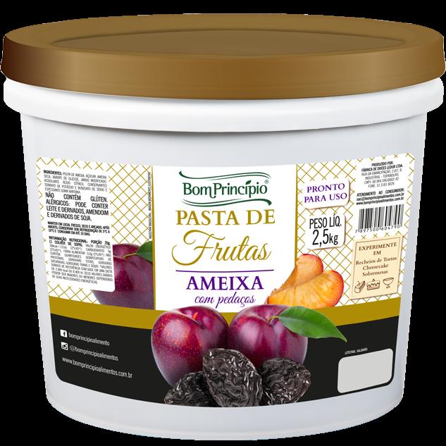 Pasta de Frutas Ameixa com Pedaços