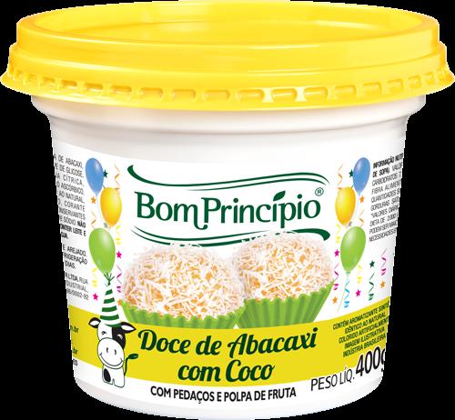 Doce de Abacaxi com Coco